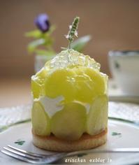 シャインマスカットのムースケーキ♪ - アリスのトリップ