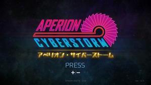 【闇が深い一品】:『アペリオン・サイバーストーム』(NS/PC) - Box Diary