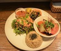 身体に優しい健康ランチ 玄米カフェ実身美(サンミ) - 今日はなに食べる? ☆大阪北新地ランチ