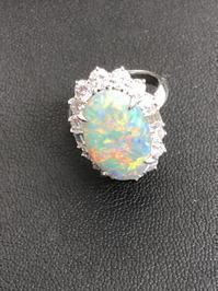 オパールの指輪をお買取しました! - 買取専門店 和 店舗ブログ