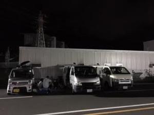 2018.08.18「店終わって鈴鹿へ!」 - 店長のひとりごと