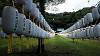万灯みたま祭 護国神社 - 長い木の橋