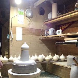 小壺の削り - 花器工房日記