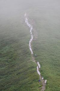 月山のベニヒカゲ - 川の流れのカンツカブログ