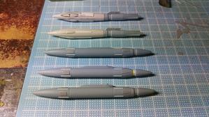 Hyper weapon models 模型とメカとクリーチャーと……
