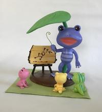 カエルのファミリー - 図工舎 zukosya blog