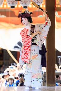 祇園祭2018花傘巡行奉納舞踊小町踊り(祇園東の皆さん) - 花景色-K.W.C. PhotoBlog