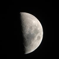 今日は半月 木星と火星 - ちょこっとした理科の小道具