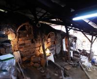 『二の間』の穴 - のぼり窯 窯元の日々