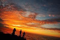 黄金岬の夕陽 - slow life-annex