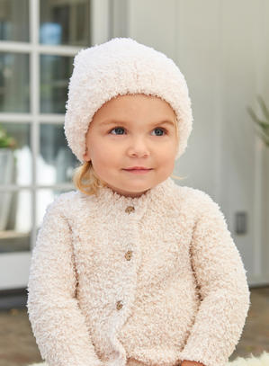 BAREFOOT DREAMS INFANT HEATHERED CARDIGAN - AVALON BLOG