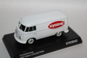 1/64 Kyosho CircleKSunkus 2007 Motor COLLECTION Volkswagen Type 2 (T1) #1 - 1/87 SCHUCO & 1/64 KYOSHO ミニカーコレクション byまさーる