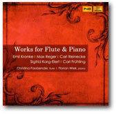 KARG-ELERT, KRONKE, FRÜHLING, REGER, REINECKE/Works for Flute & Piano - おやぢの部屋2