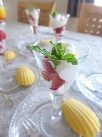 グラス・ショートケーキ - ナチュラルに、シンプルに過ごす日々
