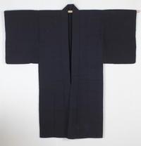 古布木綿庄内紙縒り藍染めJapanese Antique Textile Koyori-paper Shonai - 京都から古布のご紹介