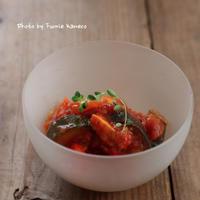 夏野菜たっぷり!ラタトゥイユ - ふみえ食堂  - a table to be full of happiness -