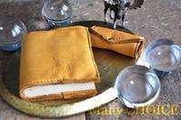 エルクスキン・ブックカバーとキーケース・時を刻む革小物 - 時を刻む革小物 Many CHOICE~ 使い手と共に生きるタンニン鞣しの革
