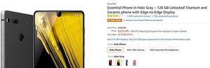 ついにプライムデーより安く Essential Phoneが約2.8万円で輸入可能に - 白ロム転売法