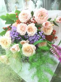夏休み明けのみなさまありがとうございます - ルーシュの花仕事