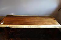 モンキーポッド乾燥材一枚板 - SOLiD「無垢材セレクトカタログ」/ 材木店・製材所 新発田屋(シバタヤ)