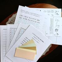 ハングルのペン字・筆ペン通信講座。9月にまた開講です。 - ナリナリの好きな仁寺洞