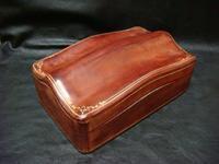 アンティーク イタリー製 皮の箱 - アンティーク(骨董) テンナイン