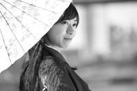 美雨ちゃん11 - モノクロポートレート写真館
