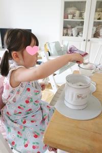 娘と夫のケーキ作り&ママ友Yさんち☆ - ドイツより、素敵なものに囲まれて②