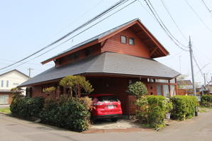 35年経過の杉板:旧宅 - 家づくり西方設計
