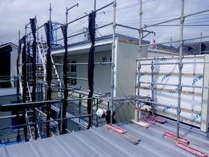 柴田町船岡HHM様邸外壁工事 -
