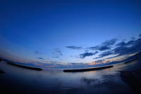 朝焼け。 - 青い海と空を追いかけて。