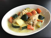 鶏と野菜のココナツカレー煮 - ぼっちオバサン食堂