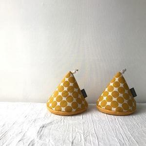 三角帽子の鍋つかみ*水玉 - codica