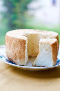 エンゼルフードケーキにトライ。四方山話と - peddyのくまちゃん カメラを持って。