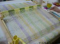 ポンポンモール祭り開催中 - アトリエひなぎく 手織り日記