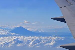 上空から富士山 - 野鳥大好き!闘将・N
