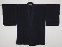 古布木綿庄内紙縒り仕事着Japanese Antique Textile Koyori-paper Noragi - 京都から古布のご紹介