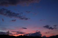 こんな夕焼けの空に旅立っていった  - 風の彩り-2