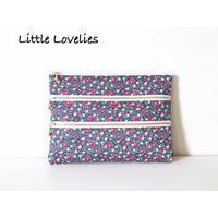 3ファスナーポーチ - Little Lovelies