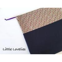 籠バッグの中の巾着 - Little Lovelies