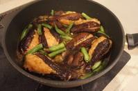 【まるごと茄子の肉詰め照り焼き】 - モンスーンの食卓日記