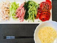 今日わは冷やし中華 - MotoのNY料理教室ライフ