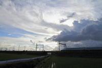 クラウド ハンティング~① - 新幹線の写真