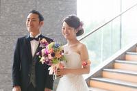 卒花嫁様アルバムパレスホテルの花嫁様よりあでやかに手にするほど好きになるブーケ - 一会 ウエディングの花