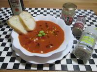 暑い日に!トマトジュースで作るお手軽ガスパチョ - candy&sarry&・・・2