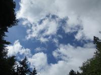 暑かった夏8月22日(水) - 雲居
