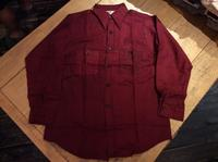 N.O.S. 60's 5Brother hound's tooth flannel shirt - BUTTON UP clothing