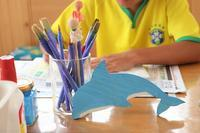 貯金箱工作 - 大阪府池田市 幼児造形教室「はるいろクレヨンのブログ」