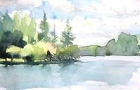 蓼科湖・夏 - ryuuの手習い
