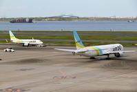 2機のAIR DO - 南の島の飛行機日記